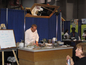 Demonstration Kitchen Outdoor cooks kitchen: portable instructional kitchen