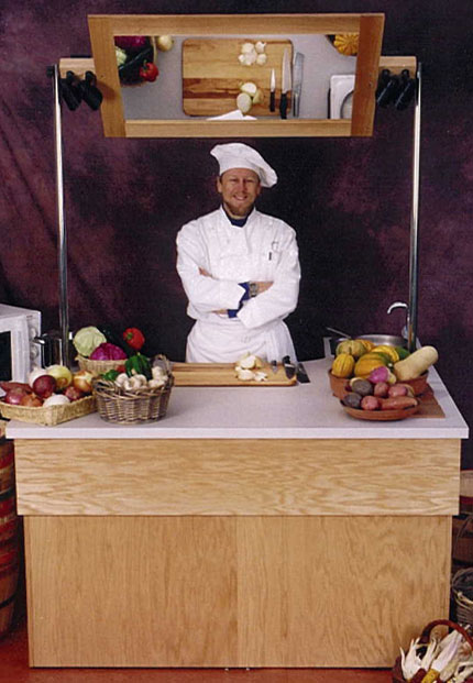 Chef Kitchen In A Mobile Home